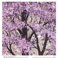 Spring Song Petite II Framed Print