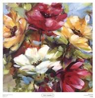Lily's Garden I Fine Art Print