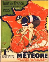 Tour de France 1925 Framed Print