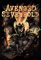 Avenged Sevenfold - Fire Wall Poster