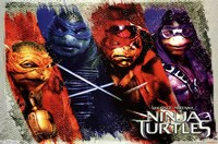 Ninja Turtles - Bars Wall Poster