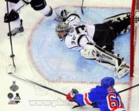 Jonathan Quick Game 3 of the 2014 Stanley Cup Finals Action Fine Art Print