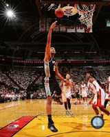 Tim Duncan Game 3 of the 2014 NBA Finals Action Fine Art Print
