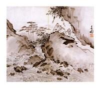Yi Han-cheol - drawing Fine Art Print