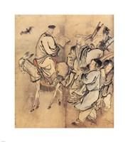 Painting of the Nineteen Iimmortals II Fine Art Print
