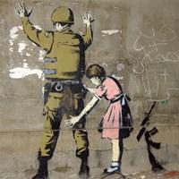 Bethlehem Wall Graffiti Fine Art Print