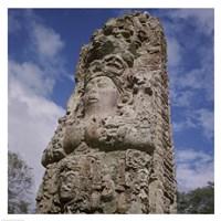 Stelae Copan Mayan Honduras Fine Art Print