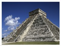 El Castillo Pyramid Fine Art Print