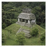 Temple of the Cross Palenque Fine Art Print
