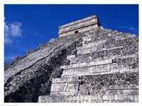 El Castillo Chichen Itza up close Fine Art Print
