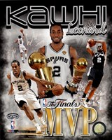 Kawhi Leonard 2014 NBA Finals MVP Portrait Plus Fine Art Print