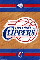 Los Angeles Clippers - Logo 14 Wall Poster