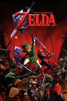 Zelda - Battle Wall Poster