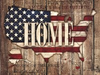 USA Home Fine Art Print