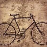Bicycle Travel Fine Art Print
