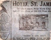 Hotel St James Fine Art Print