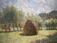 Haystacks at Giverny, 1893 Fine Art Print