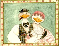 The geese Family III Fine Art Print