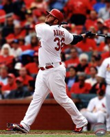 Matt Adams 2014 Batting Action Fine Art Print