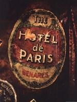 Hotel De Paris Fine Art Print