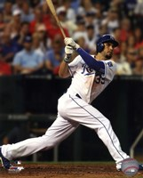 Eric Hosmer Baseball Bat Swing Fine Art Print