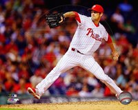 Cole Hamels 2014 Action Fine Art Print