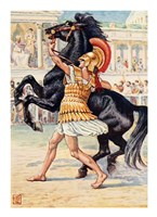 Alexander the Great in the Olympic Games Fine Art Print