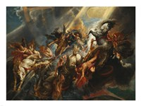 The Fall of Phaeton Fine Art Print
