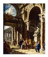 Alexander the Great Cutting the Gordian Knot Fine Art Print