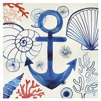 Anchor in Bermuda Fine Art Print