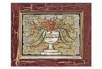 Antique White Vase II Fine Art Print
