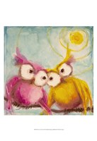 Hoo Loves You Fine Art Print