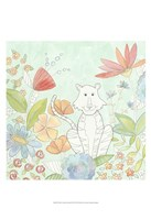 Nick's Animal Garden II Framed Print