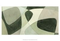 Verdigris Intersection I Fine Art Print