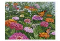 Zinnia Bouquet Fine Art Print