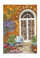 Tuscan Veranda I Fine Art Print
