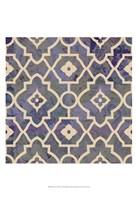 Morocco Tile IV Fine Art Print