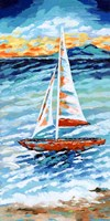 Wind in my Sail II Framed Print