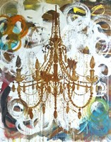 Rust Chandelier Fine Art Print