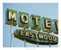 Vintage Motel III Fine Art Print