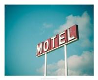 Vintage Motel IV Fine Art Print