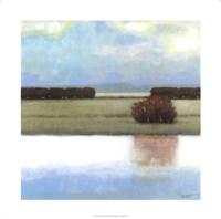 Crystal Bay I Framed Print
