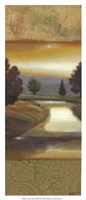 Sunset Creek II Framed Print