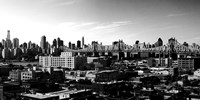 Panorama of NYC II Framed Print