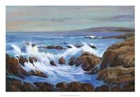 Seascape Faraway I Framed Print