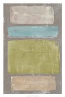 Panelled Colors II Framed Print