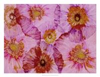 Crepe Paper Flowers II Framed Print