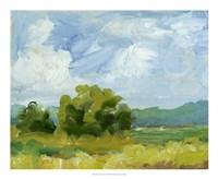 Field Color Study I Framed Print