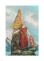 Nationalism Viking Cultivation Fine Art Print