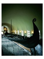 Oseberg Ship Viking Ship Museum Oslo Norway Framed Print